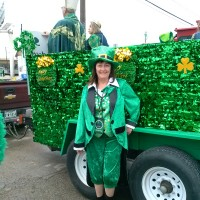 Kathy Moore, the head leprechaun