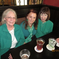 Pat Howell, Sharon O'Rourke, Betty D'Arcy