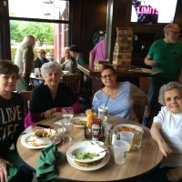 Karla Roberson, Mary Dowling, Theresa & Betty Sternant