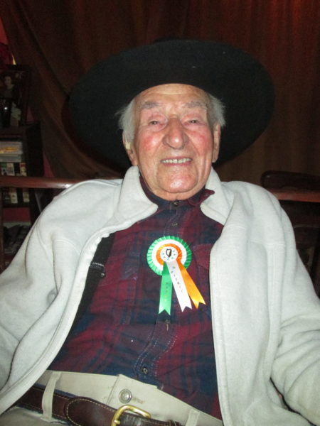 Mathew Crowley 104 Years Old