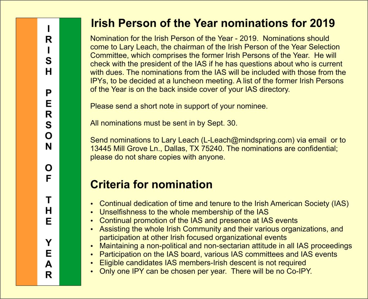 ipy nomination 2018